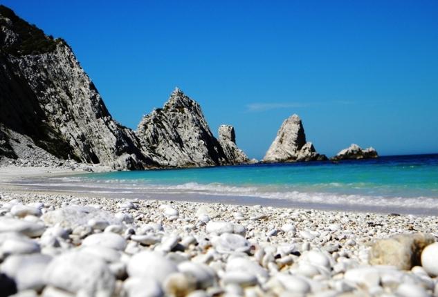 Spiaggia delle due sorelle - Sirolo