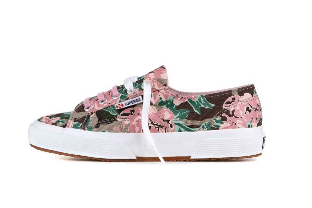 Superga e AW LAB - floreale