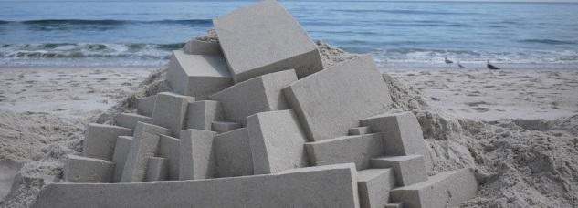 Castelli di sabbia di Calvin Seibert