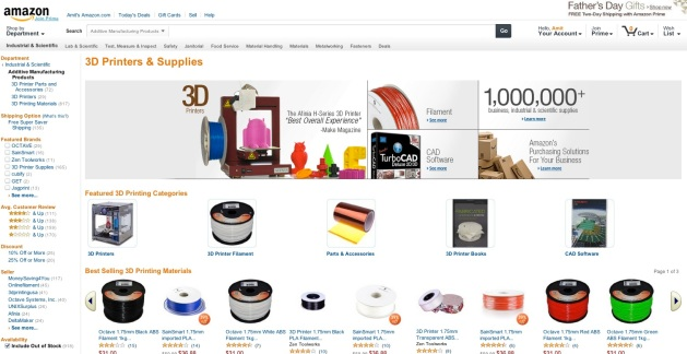 Amazon Stampa 3D