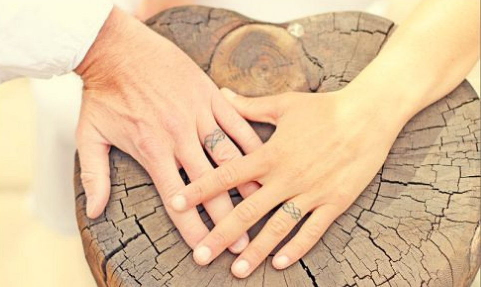 Conosciuto 10 fedi tatuate | l'amore è sulla pelle | likemimagazine GJ64