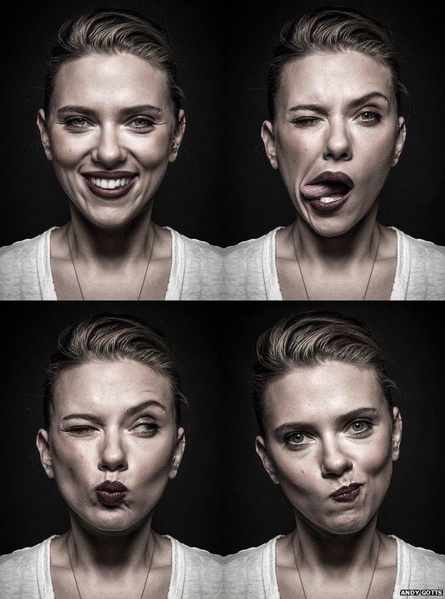 Scarlett Johannson by Andy Gotts