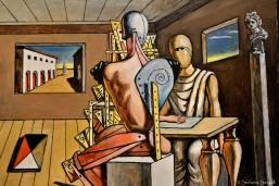 Giorgio de Chirico e l'oggetto misterioso 1