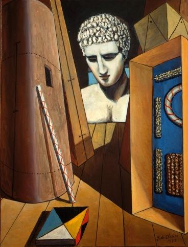 Giorgio de Chirico e l'oggetto misterioso 2