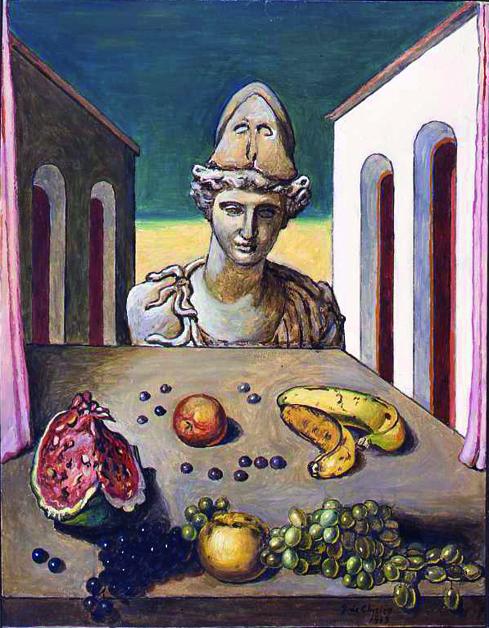 Giorgio de Chirico e l'oggetto misterioso 3