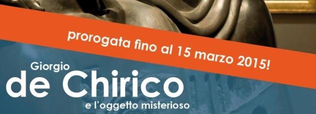 Giorgio de Chirico e l'oggetto misterioso