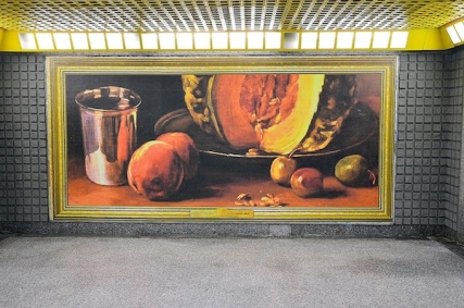 Esselunga porta l'arte in metro 1