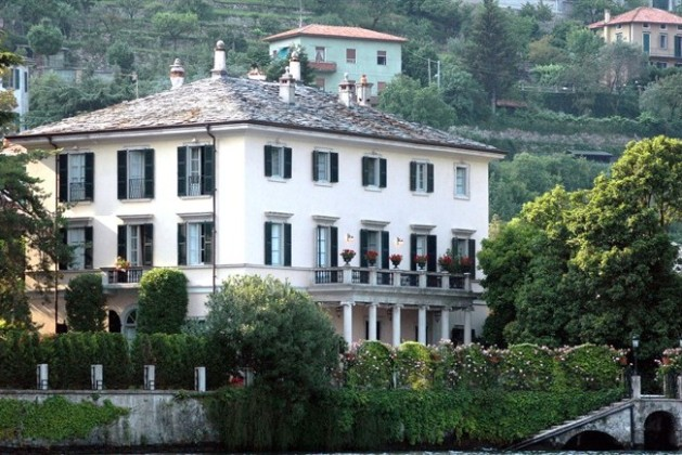 Villa di George Clooney sul Lago di Como