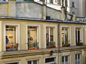 Le 31 octobre 2012, rue du Faubourg-du-Temple, Paris-11e