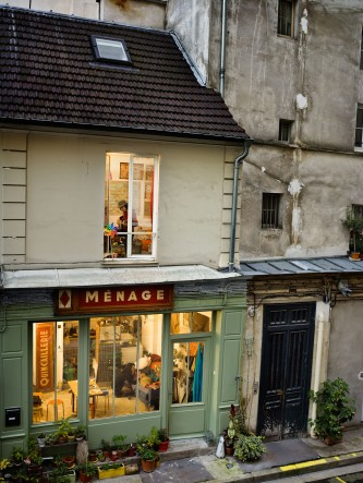 Le 29 octobre 2012, passage de Desir, rue du Fauborg-Saint-Denis