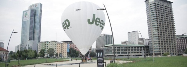 Jeep Balloon Experience