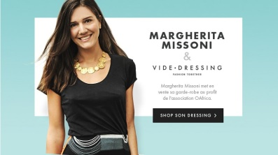 Margherita Missoni e Videdressing per OAfrica 1