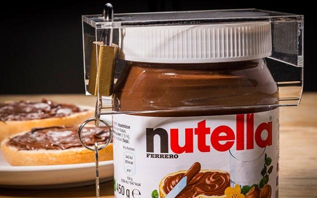 Antifurto per Nutella