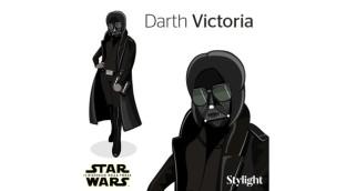 Darth Victoria per Stylight
