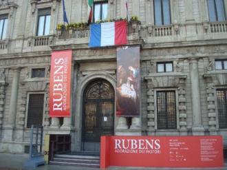 L'adorazione dei pastori di Rubens 1