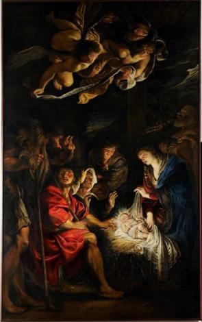 L'adorazione dei pastori di Rubens 2