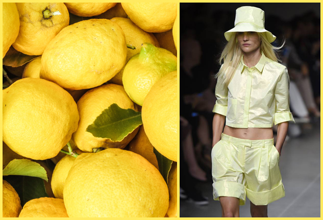moda frutta e verdura