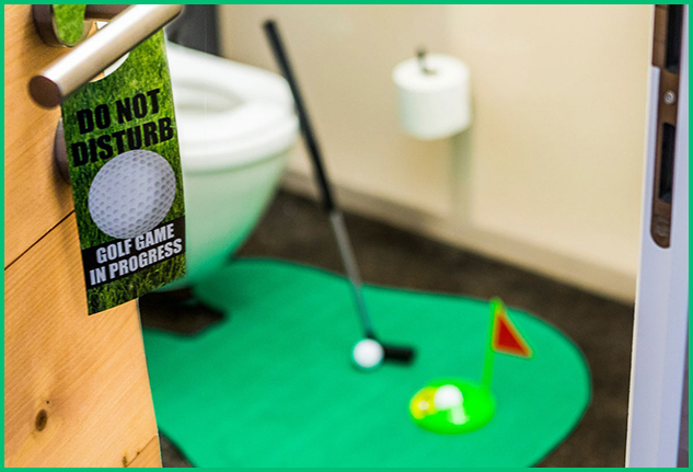 Set Golf da Bagno