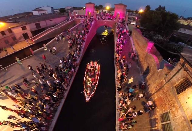 Carnevale sull'acqua Comacchio