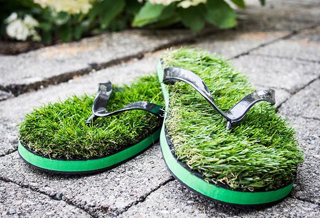 infradito di erba