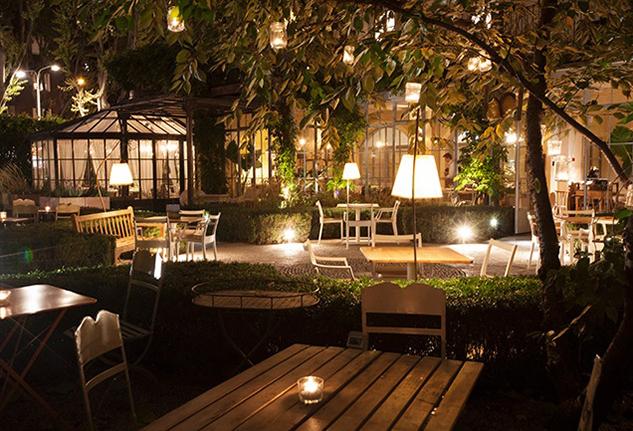 10 ristoranti con dehor a milano per le serate di for Planimetrie dell interno della casa all aperto