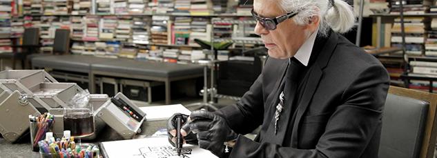 Karl Lagerfeld e Faber Castell