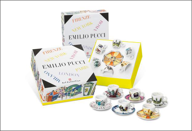 Emilio Pucci Illy Art Collection