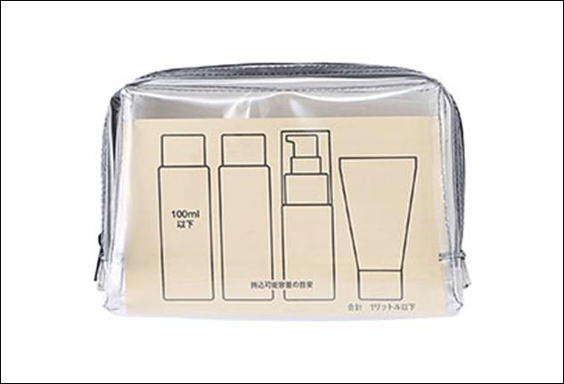Beauty case per liquidi