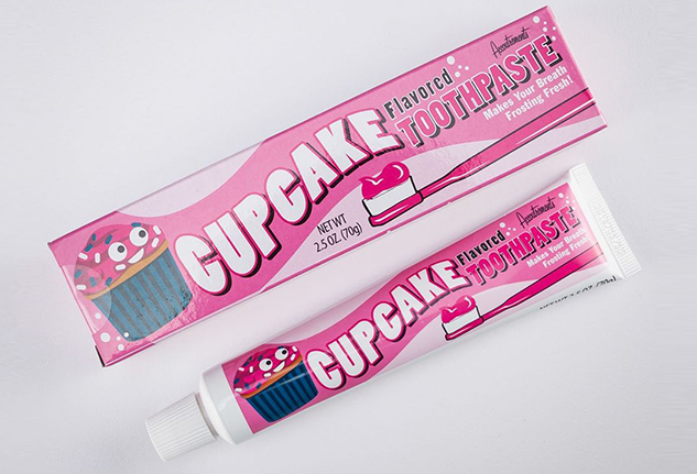 dentifricio cupcake