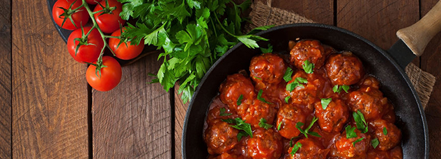 42724761 - meatballs in sweet and sour tomato sauce